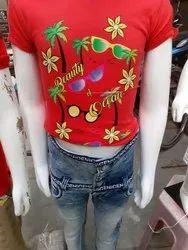 Girls T Shirt Jeans