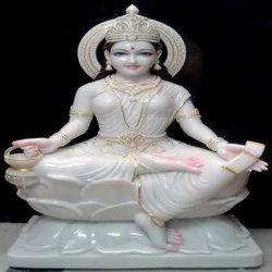 Mata Gayatri Marble Statue