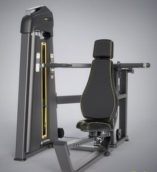 Fitcare Stainless Steel Incline Chest Press Machine