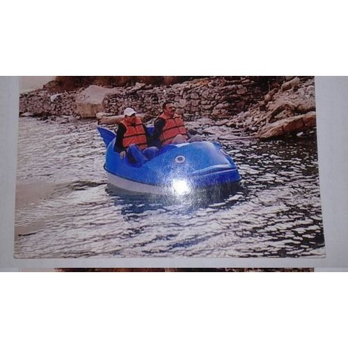 Two Seater Paddle Motor Boat