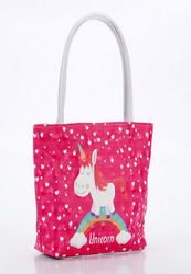 Unicorn Theme Dark Pink Hand Bag for Unicorn theme Party