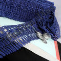 Indian Designer and Fancy Blue Chemical Lace