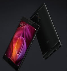 Black Redmi Note 4 Mobile Phone, Screen Size: 5.5 Inch