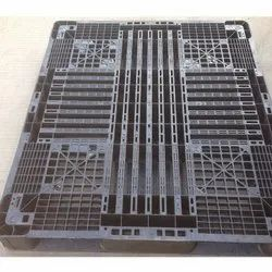 Heavy Injection Molded Rectangular Plastic Pallet