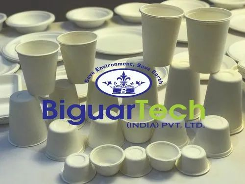 Biodegradable Bagasse Cup Making Machine