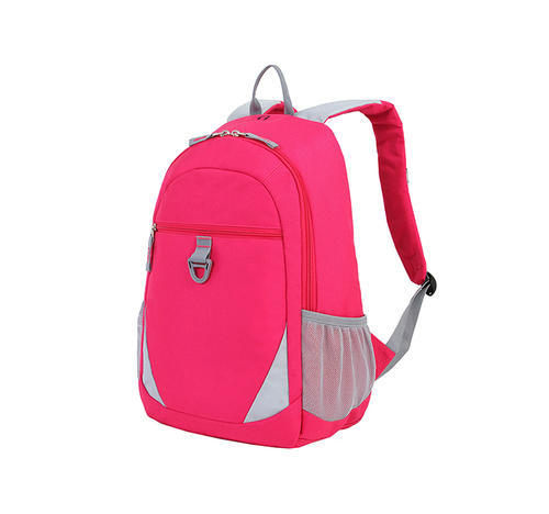 1e16ac71f8 Red & Grey Polyester School, College, Office Backpack, Dimension: 18 x 13