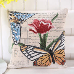 Multicolor Embroidered Home Furnishings