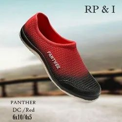 Mens Red Panther DC Shoes