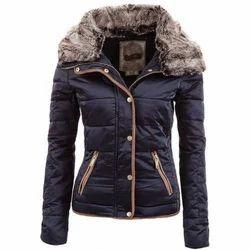 Polyester Plain Ladies Fancy Jacket
