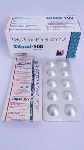 Cefpodoxime Proxetil 100mg Tablets
