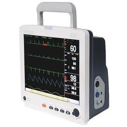 Three Para Patient Monitor, For Hospitals