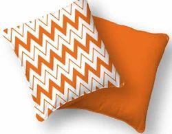 Zig Zag Print Cushion