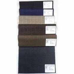 58 Birla Century Check Polyester Suiting Fabric