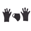 Cotton Mask N'' Gloves (2 in 1)
