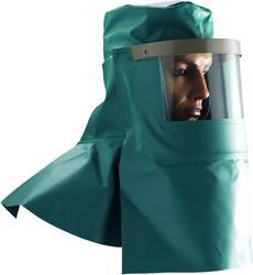 PVC Hood with Visor with flap