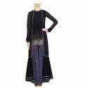 Ladies Black Designer Gharara