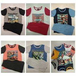 Boys Shorts T Shirts Set