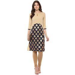 Ladies Designer Crepe Kurtis