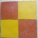 Double Colour Chequered Tiles