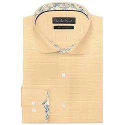 Charles Dino Cotton Mens Designer Readymade Shirt
