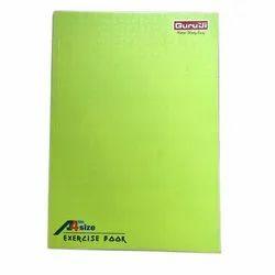 谷鲁基完美装订A4练习学校笔记本