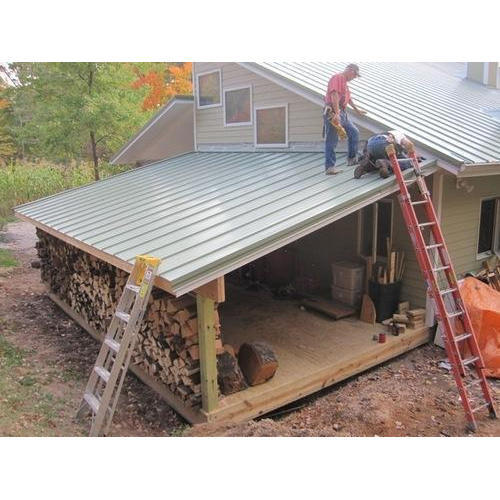 Roofing Shed Installation Service in Chennai, SRN Steel