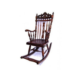 Antique Rocking Chair, for Indoor
