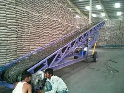 Truck Lording Conveyor System
