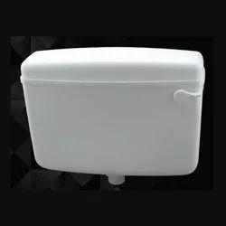 White COMMANDER Pvc Flush Tank