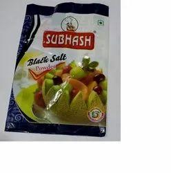 Subhash Powder Black Salt, Packaging Type: Pouch