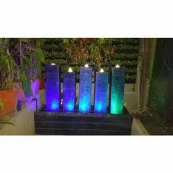 Stone Fiber Water Fountain, Height: 1 - 3 feet