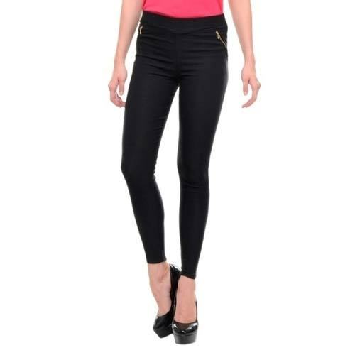 3a6e26201ce57 Plain Black Ladies Jeggings, Rs 200 /piece, Gautam Enterprises | ID ...