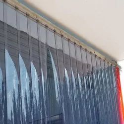Transparent Plain 2.5 Mm PVC Strip Curtain