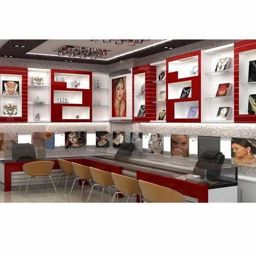 Jewellery Shop Interior Designing Service In Kurichi Coimbatore Al Adl Tech Id 20281737688