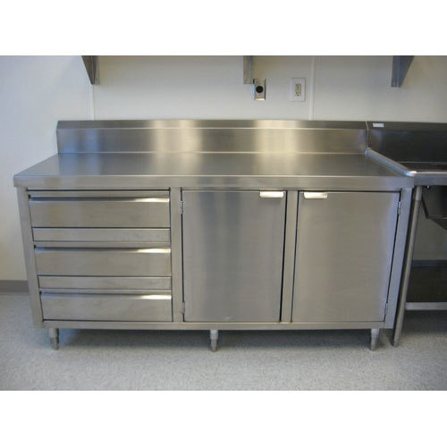 Stainless Steel Commercial Kitchen Cabinet - Sri Raam Agencies ...