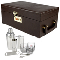 Brown - 03 - Portable Cocktail Bar Set