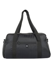 Compact-Black Duffle Gym Bag