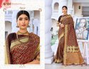 Stylish  Designer Bridal Saree