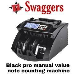 Swaggers Black Pro Money Counter