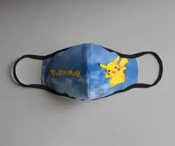 Face Mask with Pokemon Design