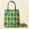 Casual Wear Pattern Printed Tote Bag
