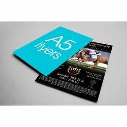 Paper Advertising Leaflet, Rectangle
