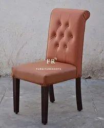 Rexine Chair Upholstered for Restaurants