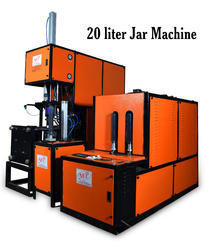 Semi Automatic Bottle Pet Blow Molding Machines 20ltr