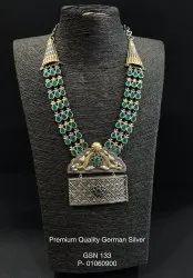 GSN 133 German Silver Necklace