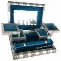 Jewellery Box With Silver Hand Craft Decorative Showpiece