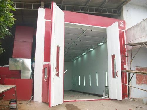 Spray Paint Booth Bus Paint Booth Manufacturer From Hyderabad