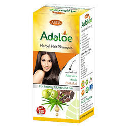 Herbal Natural Adaloe Shampoo, Packaging Type: Bottle