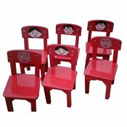 Wooden Kids Chair Set