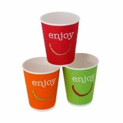 Printed Paper Cup, Features: Disposable,Eco-friendly, Capacity: 250 ML